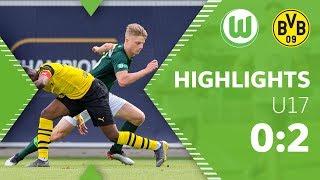 Auch im rückspiel um die deutsche b-junioren meisterschaft sollte es nicht klappen. mit 0:2 verliert das team von steffen brauer gegen bor...