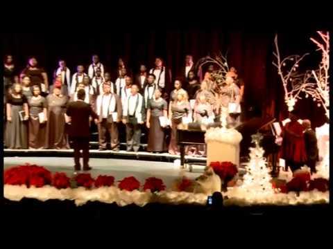 "Hinds Community College (Utica Campus) Concert Choir ""He's So Wonderful"" f/ Tracy J. (alumni) 2016"