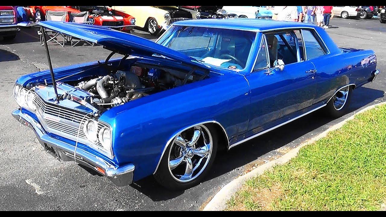 1965 Chevrolet Malibu SS Twin Turbo Pigeon Forge Rod Run - YouTube