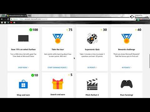 HACK For Microsoft Rewards Lots of Points - YouTube