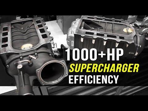 How to increase Supercharger efficiency | Harrop TVS2650