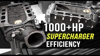 How to increase Supercharger efficiency | Harrop TVS2650
