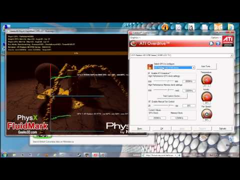 ATI Radeon CrossFire Activity + Nvidia PhysX Support (GPU PhysiX)