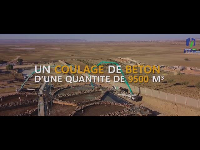BTPH HASNAOUI - LE PLUS GRAND COULAGE DE BÉTON PRÊT À L'EMPLOI EN ALGÉRIE
