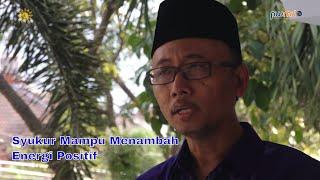 Syukur Mampu Menambah Energi Positif- Suli Daim, S.Pd, MM. - Cahaya Hikmah