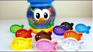 Peces de Colores - Color Fun Fish Bowl a Fun Way to Learn   Juguetes Interactivos