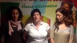 Denuncia de las mujeres expulsadas del Aaiun