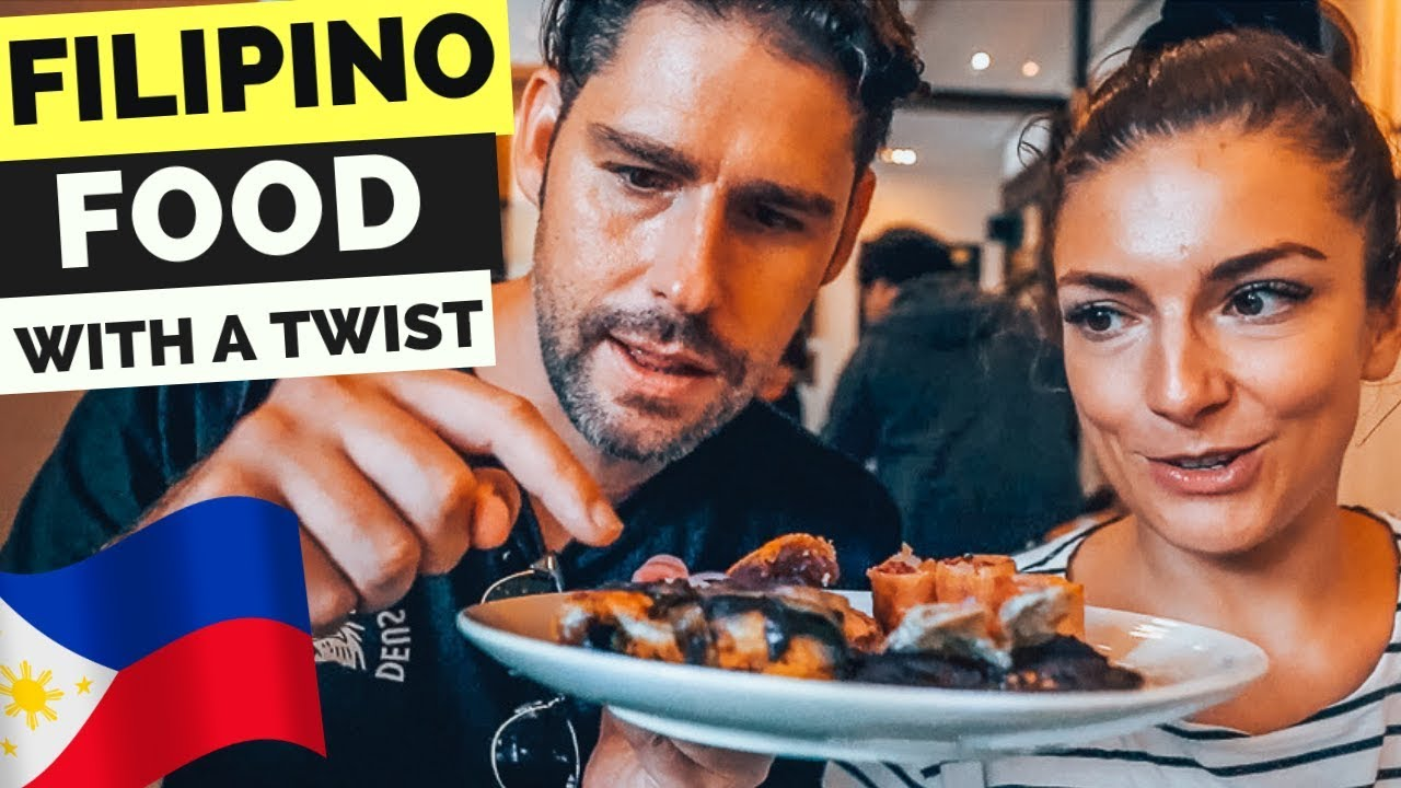 Trying FILIPINO FOOD with a TWIST - GOOD or NO?