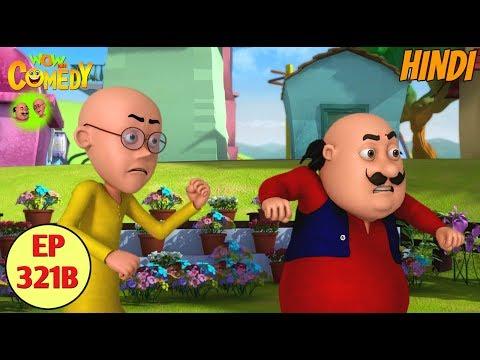 Motu Patlu | Cartoon in Hindi | 3D Animated Cartoon Series for Kids | Motu Ki Badal Bijli thumbnail