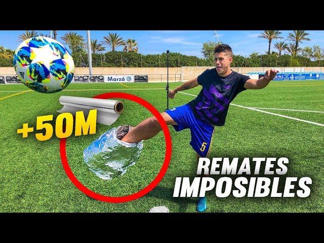 ¡La BOTA INDESTRUCTIBLE! +50 METROS ALUMINIO ¡Retos de Fútbol!