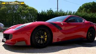 Essai Ferrari F12 TDF
