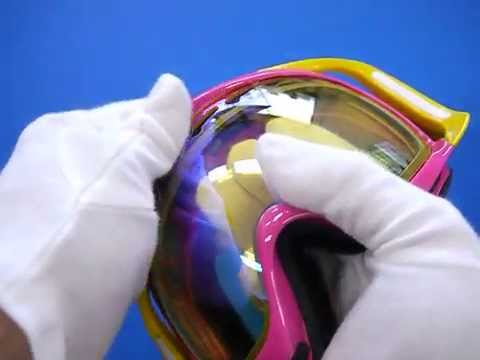 oakley crowbar lenses nw1a  How to change goggle lenses for Oakley Crowbar