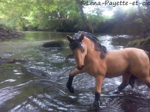 [Schleich] Les chevaux sauvages sont en danger épisode 1