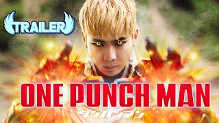One Punch Man Live Action Trailer - Saitama VS Genos | RE:Anime