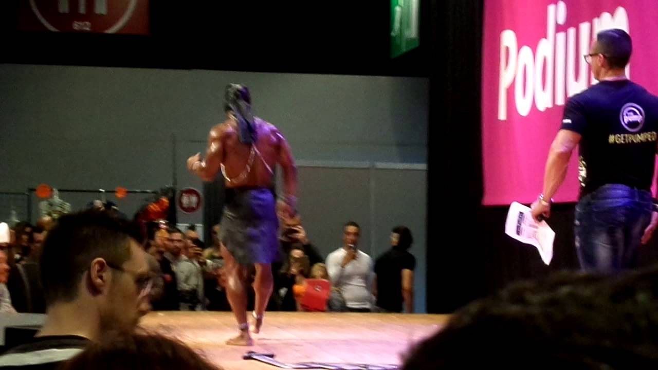 Salon mondial body fitness 2015 paris joseph doutau youtube for Salon body fitness