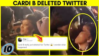 Cardi B Deletes Twitter After This Backlash