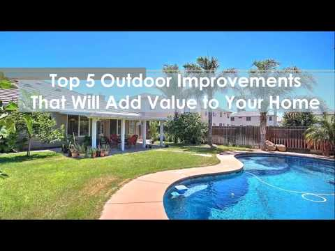 top 5 outdoor improvements that will add value to your home call rhonda at 925 200 0827