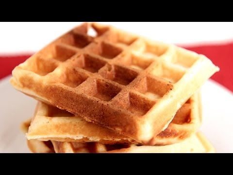Belgian Waffles Recipe - Laura Vitale - Laura in the Kitchen Episode 782