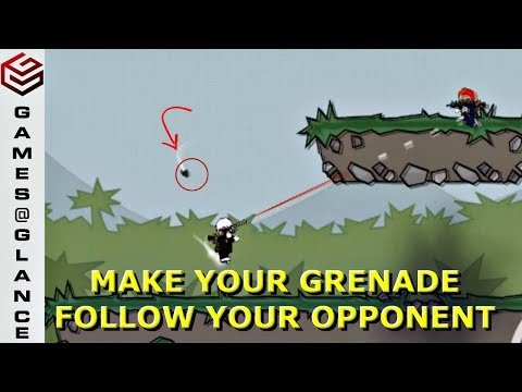 DA2 MiniMilitia Ask Me Anything #2 How to Make the Grenades follow your Opponents??
