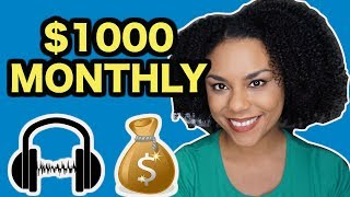 EARN $1000 PER MONTH WITH THESE 5 TRANSCRIPTION JOBS! (2019)