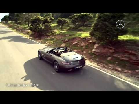 2012 Mercedes SLS AMG Roadster revealed