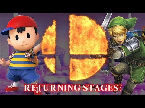 Super Smash Bros Switch  Returning Stages 3DSWii U