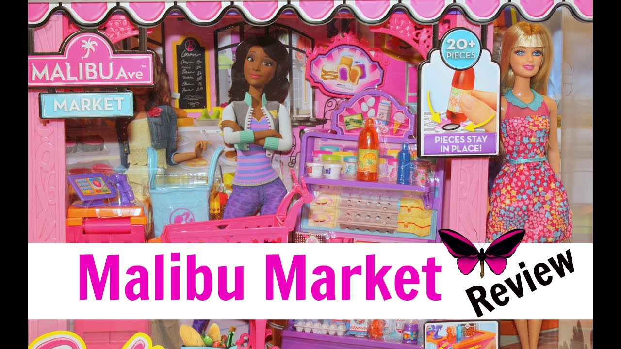 Barbie Doll Malibu Ave Market Grocery Store Review