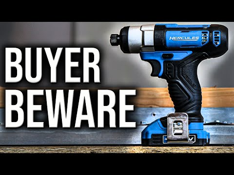DON'T BUY THIS HERCULES 12V TOOL FROM HARBOR FREIGHT