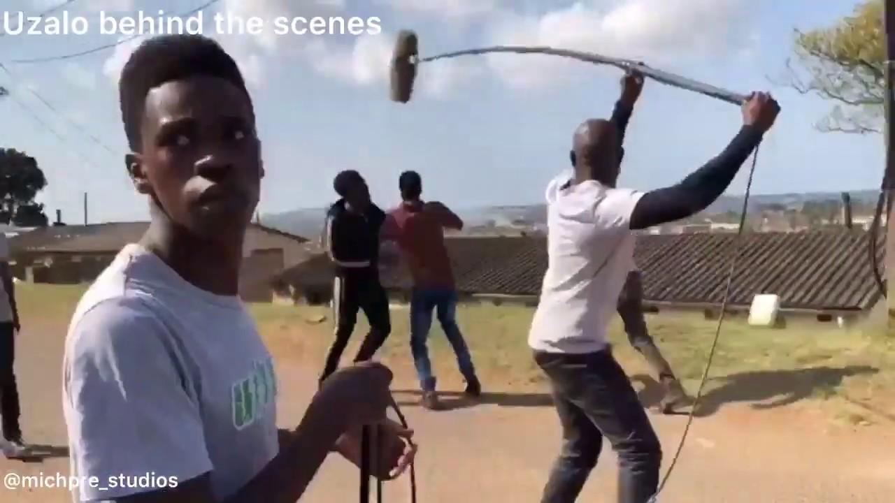 Download Uzalo Behind The Scene Of Sbonelo Fight With Khulekani