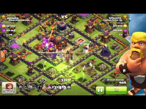 Clash Of Clans  | 3* TH9 BArch  |  'Live from' Forum Elite