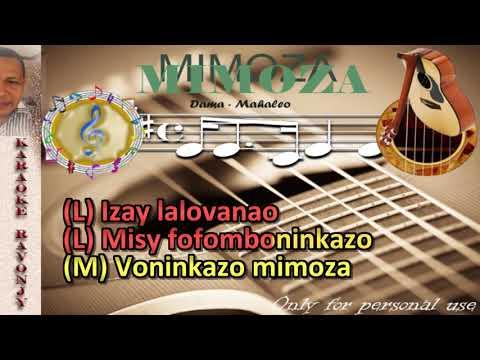 Karaoke gasy - Mahaleo - Mimozà - Ravonjy