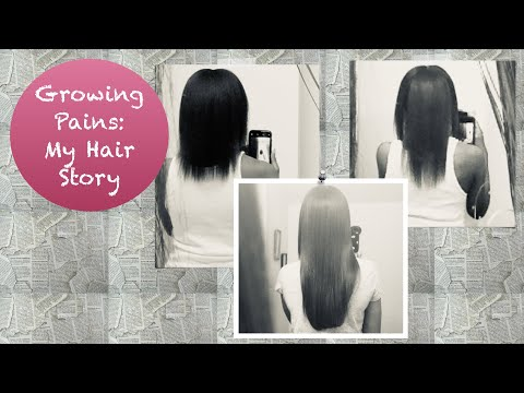 Growing Pains | Healthy Relaxed Hair | My Hair Story