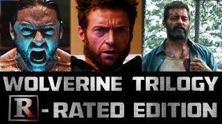 WOLVERINE Trilogy: R-Rated Edition DVD (LOGAN Parody)