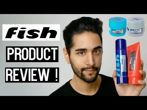 Fish Hair Products, Tried And Tested! - Hair Product Review ✖ James Welsh