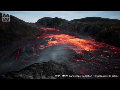 MAWI LandscapeCollection - Lava WIP
