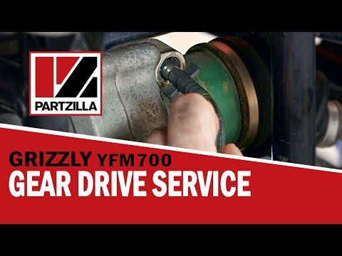 Yamaha Grizzly 700 Differential Oil Change | Partzilla.com