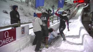 FIBT |  PARK CITY WC2 WOMENS BOBSLEIGH HIGHLIGHTS