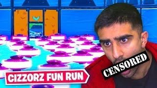 Cizzorz FUN RUN ruined my life... (Fortnite Death Run)