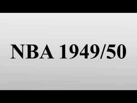 NBA 1949/50