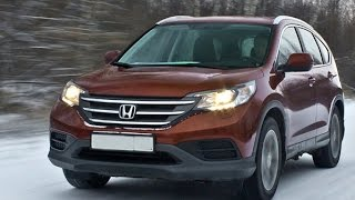 winter test drive offroad honda cr-v 2012 2,0