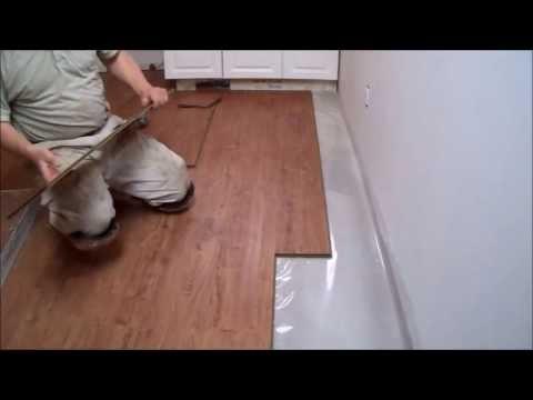 How To Install Laminate Flooring Doovi