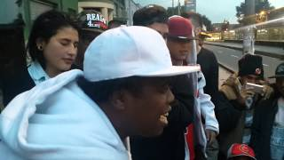 BATALLA DE GALLOS/DOGGY FRESH VS KEN ZINGLE/VENEZUELA Y COLOMBIA/FREESTYLE RAP/HIP HOP