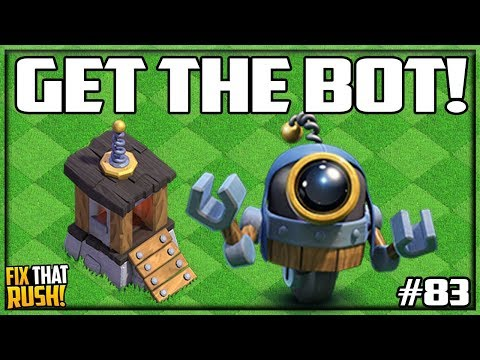 6 BUILDERS? Get The BOT! Clash Of Clans Fix That Rush #83