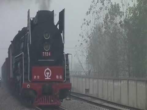 QJ【Steam locomotive】2-10-2 China(Shandong sheng)中国山東省前進型蒸気機関車