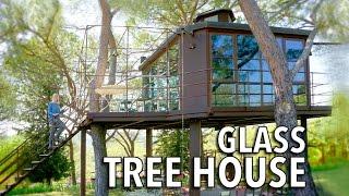 Amazing Tiny Glass Treehouse & Co-living Tuscany, Italy
