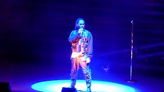"""Miguel performing """"Do You Like Drugs"""" live @ the Greek Theatre in Berkley CA April 12, 2018"""