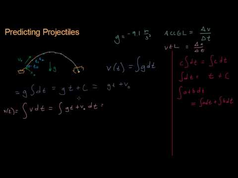 Math for Game Developers - Predicting Projectiles (Integration)