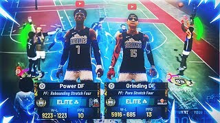 Why POWER & GRINDING DF ARE THE BEST DUO in NBA 2K19 • TWO 99 OVERALLS REVEAL BEST JUMPSHOT & BUILDS
