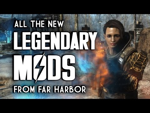 All Far Harbor Legendary Weapon & Armor Mods - New Fallout 4 Legendaries
