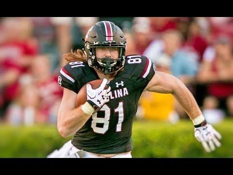 South Carolina TE Hayden Hurst || Career Highlights (2015-2017)